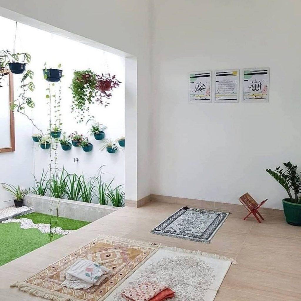 desain taman belakang rumah yang luas