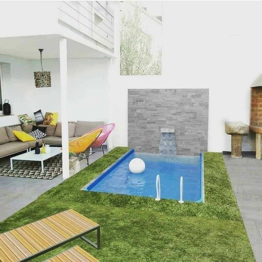 desain taman dalam rumah minimalis